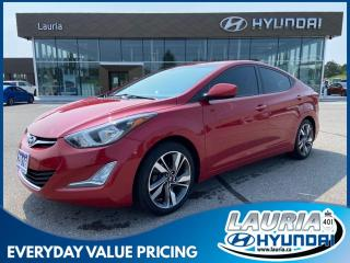 Used 2016 Hyundai Elantra GLS - LOW KMS for sale in Port Hope, ON