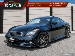 Used 2011 Infiniti G37 Coupe IPL Only 064,653KM Mint! for sale in Scarborough, ON