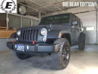 Used 2017 Jeep Wrangler UNLIMITED BIG BEAR EDITION!! for sale in Barrie, ON