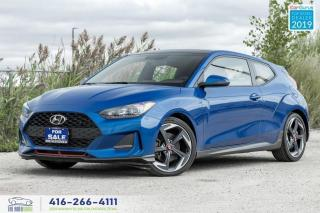 Used 2019 Hyundai Veloster Turbo|Auto|Heated seats+Steering|Sunroof| for sale in Bolton, ON
