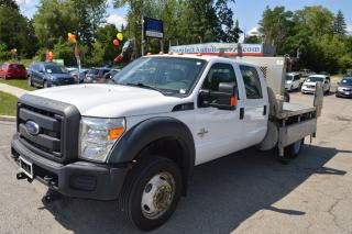 Used 2013 Ford F-550 XL 176 WB CREW CAB 4X4 for sale in Richmond Hill, ON