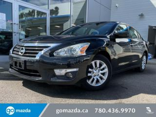 Used 2014 Nissan Altima S - CLOTH, POWER OPTIONS, LOW KMS, GREAT FIRST VEHICLE! for sale in Edmonton, AB