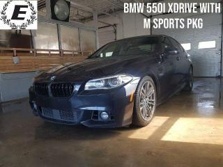 Used 2016 BMW 5 Series 550i xDrive  M SPORTS PACKAGE!! for sale in Barrie, ON