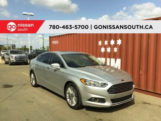 Used 2016 Ford Fusion SEL, AWD, LEATHER, NAVIGATION for sale in Edmonton, AB