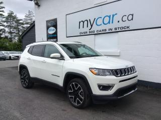 Used 2020 Jeep Compass Limited LEATHER, PANOROOF, NAV, HEATED SEATS, WOW!! for sale in North Bay, ON