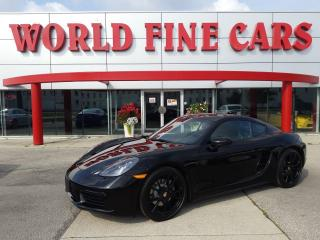 Used 2018 Porsche 718 Cayman   CLEAN!   Ontario Local   PDK for sale in Etobicoke, ON