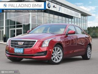 Used 2017 Cadillac ATS 2.0L Turbo Remote Engine Start, No Accidents, Low KM for sale in Sudbury, ON