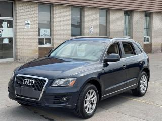 Used 2012 Audi Q5 2.0L PREMIUM NAVIGATION/REAR CAMERA for sale in North York, ON