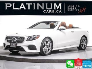Used 2018 Mercedes-Benz E-Class E400 4MATIC, AMG SPORTS PKG, CAM, NAV, HEATED,HUD for sale in Toronto, ON