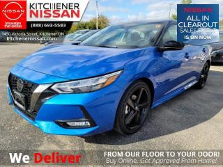 New 2021 Nissan Sentra SR CVT  -  Sunroof -  Heated Seats - $168 B/W for sale in Kitchener, ON