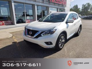 Used 2018 Nissan Murano SL for sale in Moose Jaw, SK