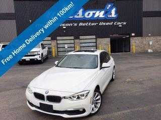 Used 2017 BMW 3 Series 328d xDrive Diesel! AWD! Navi! Leather, Luxury Line, Premium Pkg Essential! for sale in Guelph, ON