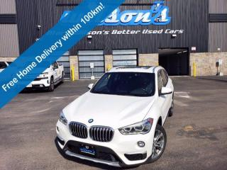 Used 2017 BMW X1 xDrive28i, Heads-Up Display, Navi, Leather, Sunroof, Premium Pkg Enhanced! for sale in Guelph, ON