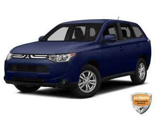 Used 2014 Mitsubishi Outlander | CLEAN CARFAX | ALLOYS | AWD | KEYLESS ENTRY | for sale in Barrie, ON