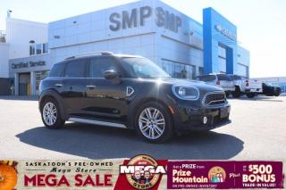 Used 2020 MINI Cooper Countryman Cooper S - AWD, Heated Leather, Sunroof, Back Up Camera for sale in Saskatoon, SK