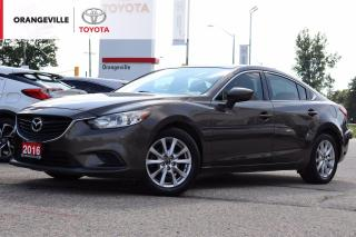Used 2016 Mazda MAZDA6 GS, NAVIGATION, SUNROOF, HEATED LEATHER SEATS, BACK-UP CAMERA, WINTER TIRES INCLUDED for sale in Orangeville, ON