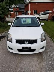 Used 2012 Nissan Sentra SR for sale in Oro Medonte, ON