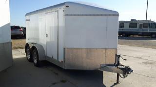 Used 2012 Agassiz Trailer 7 x 12 Cargo Ramp Door for sale in Elie, MB