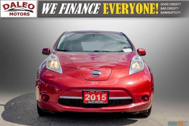 2015 Nissan Leaf SV / HEATED FRONT & REAR SEATS / NAVI / BACKUP CAM Photo3