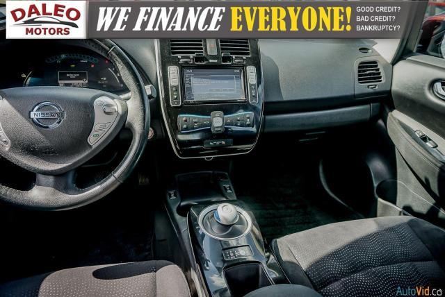 2015 Nissan Leaf SV / HEATED FRONT & REAR SEATS / NAVI / BACKUP CAM Photo14