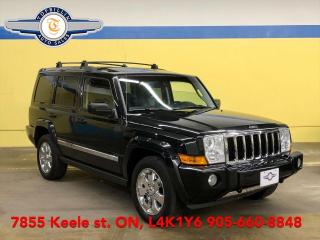 Used 2010 Jeep Commander Limited 4X4, HEMI, 7 Pass, Navi, Dual Sunroof for sale in Vaughan, ON
