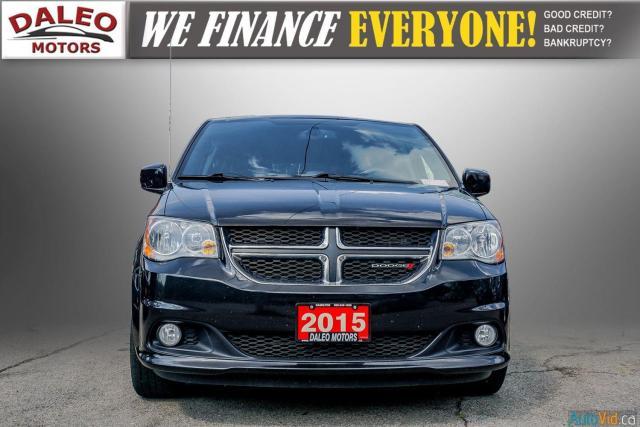 2015 Dodge Grand Caravan SXT Premium Plus / BACK UP CAM /  NAVI / REAR A/C Photo3