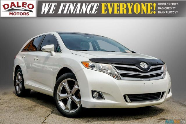 2013 Toyota Venza XLE / AWD / LEATHER / SUNROOF / REAR AC / BACK CAM