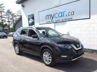 Used 2017 Nissan Rogue SV NAV. BACKUP CAM. HEATED SEATS. SUNROOF. A/C. ALLOY for sale in Richmond, ON