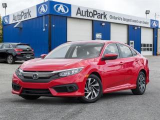 Used 2017 Honda Civic Sedan EX CVT HS BACKUP CAM|HEATED SEATS|LANE WATCH|SUNROOF for sale in Georgetown, ON