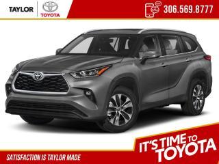 New 2021 Toyota Highlander XLE for sale in Regina, SK