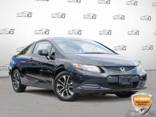 Used 2013 Honda Civic EX Ex Coupe | Stick Shift You Safety You Save for sale in Oakville, ON