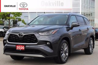 Used 2020 Toyota Highlander Limited Platinum AWD 7-Passenger Fully Loaded and Toyota Certified! for sale in Oakville, ON