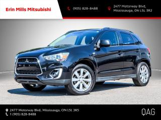 Used 2015 Mitsubishi RVR 4WD GT|NO ACCIDENTS|ROOF|CAMERA|LEATHER for sale in Mississauga, ON