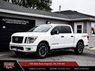 Used 2018 Nissan Titan PRO-4X Tonneau Cover - Box Liner - Only 33,000kms! for sale in Kingston, ON