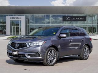 Used 2018 Acura MDX Tech AWD   7 Passenger   Navigation for sale in Winnipeg, MB