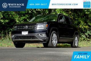 Used 2019 Volkswagen Atlas 3.6 FSI Highline * LEATHER INTERIOR * * PANORAMIC SUNROOF * * HEATED AND VENTILATED SEATS* for sale in Surrey, BC