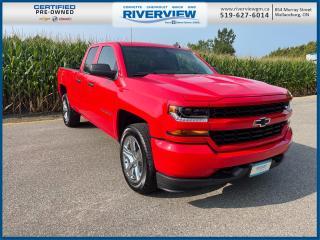 Used 2019 Chevrolet Silverado 1500 LD Silverado Custom One Owner | Low Kms | Sirius XM Radio | Cruise Control for sale in Wallaceburg, ON