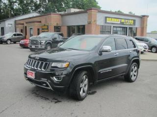 Used 2014 Jeep Grand Cherokee Overland 4WD for sale in Brockville, ON