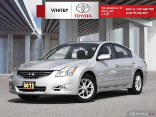 Used 2012 Nissan Altima 2.5 S for sale in Whitby, ON