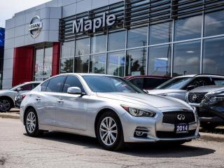 Used 2014 Infiniti Q50 Q50 Preminum AWD Backup Cam Bluetoth Heated Seats for sale in Maple, ON