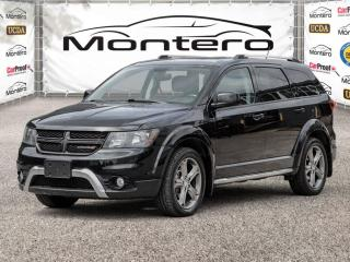 Used 2017 Dodge Journey AWD, CROSSROAD, FULLY LOADED, LEATHER, NAVI, 3RD ROW SEATING for sale in North York, ON