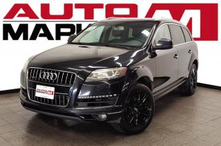 Used 2013 Audi Q7 Quattro Certifed!7seater!AWD!WeApproveAllCredit! for sale in Guelph, ON