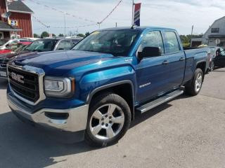 Used 2017 GMC Sierra 1500 Double Cab 4WD 5.3 L V-8! 4x4! One Owner! No Accidents! for sale in Dunnville, ON
