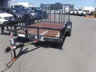 Used 2015 Big Tex 12 Foot Flat Deck Trailer for sale in Burnaby, BC