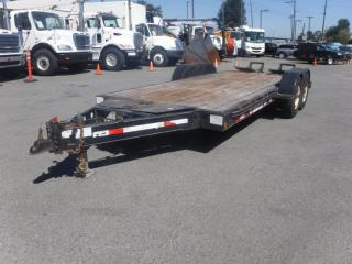 Used 2006 TRAILTECH 16 Foot Flat Deck Tandem Axle Trailer for sale in Burnaby, BC