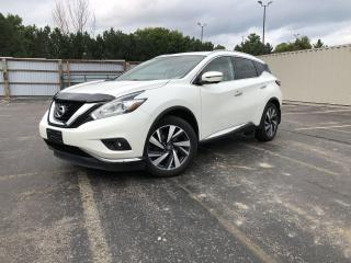 Used 2016 Nissan Murano Platinum AWD for sale in Cayuga, ON