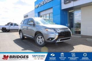 Used 2020 Mitsubishi Outlander ES**Back-up Camera   Heated Seats   7-Seater** for sale in North Battleford, SK