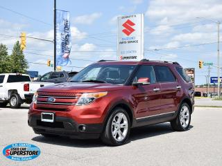 Used 2014 Ford Explorer Limited 4x4 ~Nav ~Camera ~Heated Leather ~Moonroof for sale in Barrie, ON