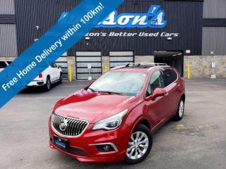 Used 2017 Buick Envision Essence AWD, Panoramic Sunroof, Heated Seats + Steering, Power Liftgate, Rear Park Assist and more! for sale in Guelph, ON