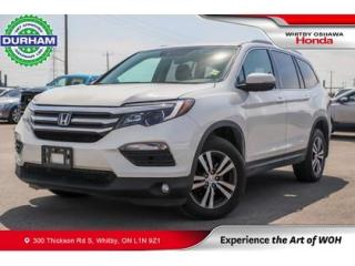 Used 2018 Honda Pilot EX-L w/Navigation | Automatic for sale in Whitby, ON